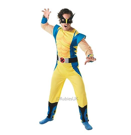 Rubies - Disfraz Oficial de Marvel Wolverine Deluxe, tamaño estándar: Amazon.es: Juguetes y juegos