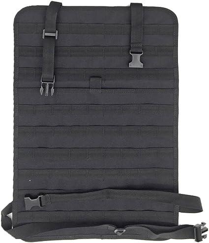 Tactical MOLLE Panel Vehicle Seat Cover Protector Kit Mat Kick Mats Waterproof Universal Wynex Car Seat Back Organizer Pocket Storage