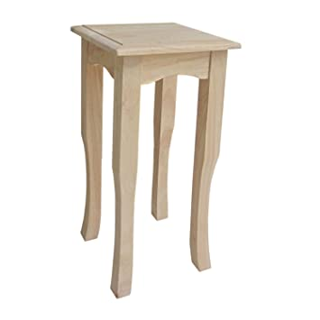 International Concepts TT30 30 Inch Tea Table, Unfinished
