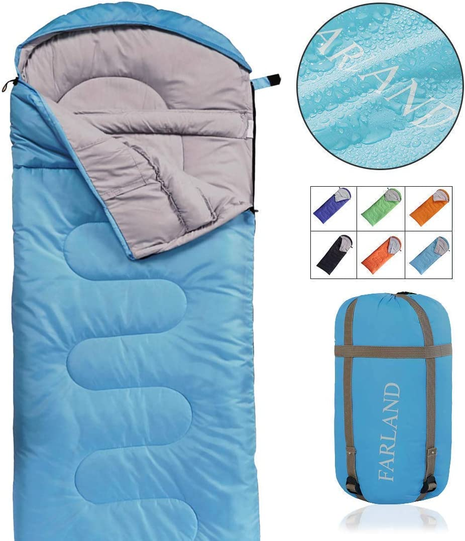 FYManny Sac de Couchage pour Adulte en Coton et Flanelle Doublure int/érieure 3 Saisons Sac de Couchage utilisable en ext/érieur et en int/érieur Confort 20/°C /à 5/°C 0/°C Extrem