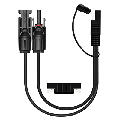 OUOU SAE Connectors Adapter 10AWG Solar to SAE Adapter Cable with 1pcs SAE to SAE Polarity Reverse Connectors: Industrial & Scientific