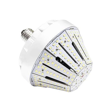 KAWELL Bombilla LED Lámpara de Maíz 50W E27 Ahorro de Energía Bulbo LED Maíz Blanca Frio