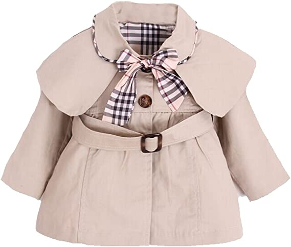 UK Kids Baby Girl Autumn Clothes Solid Color Tops+Plaid Dress Casual Outfit Set