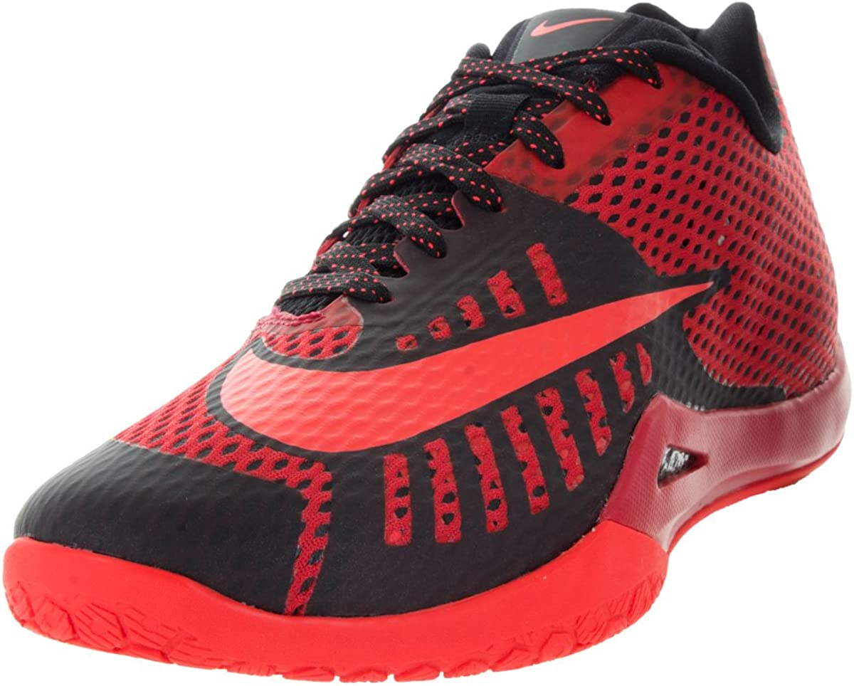 red nike gym shoes