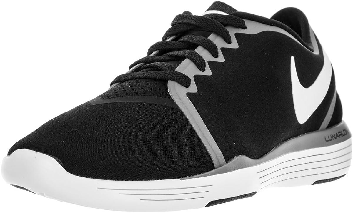Nike Womens Lunar Sculpt Black White Cool Grey Training Shoe 9.5 Women US