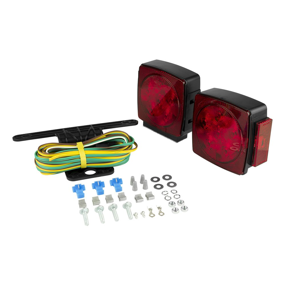 Blazer C7423 LED Square Submersible Trailer Light Kit by Blazer International Trailer & Towing Accessories
