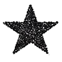 Kesheng Patch Thermocollant Strass Ecusson Etoile Forme DIY Accessoire