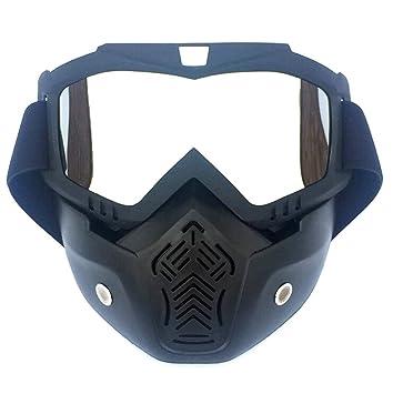 Epinki - Gafas de Sol Unisex para Moto, Compatible con ...