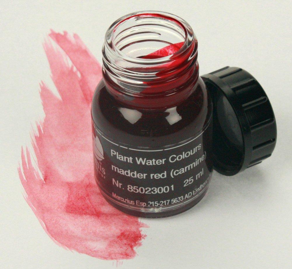 Artemis pflanzen aquarellfarben 25 ml   karminrot: amazon.de ...