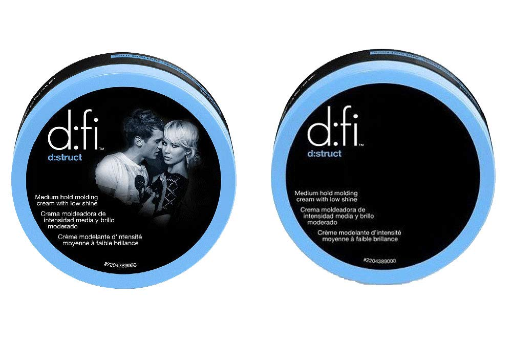 D:fi D:struct Medium Hold Molding Creme with Low Shine, 2.6 Ounce (2 Pack) by AMERICAN CREW (Image #1)