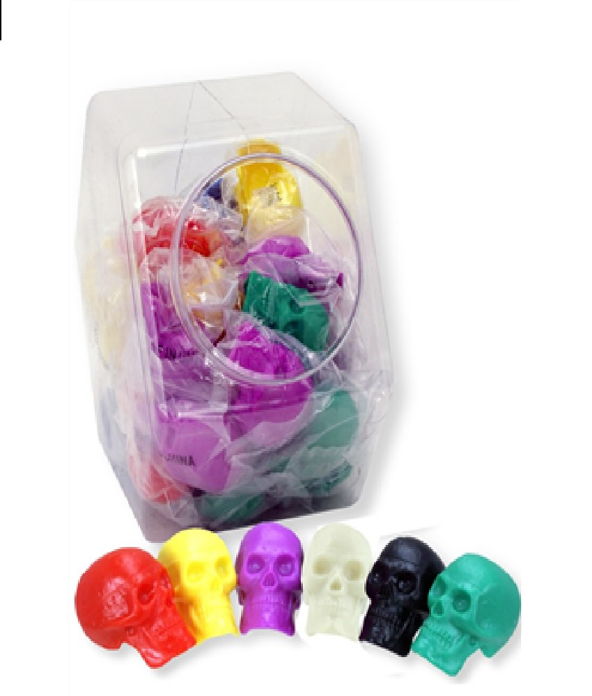 BEAD BRAINS ASSORTED SKULL SHAKERS - 24 PACK