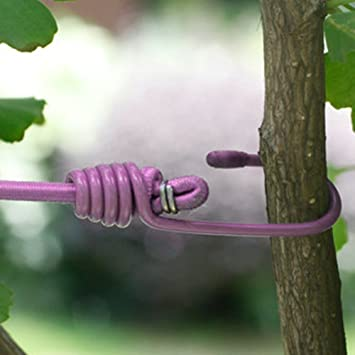 Amazon.com: Elastic Retractable Clothesline Rope With Hook Clamps Portable  For Travel Camping Outdoor Sport And Indoor Closet Or Wardrobe (pink): Home  U0026 ...