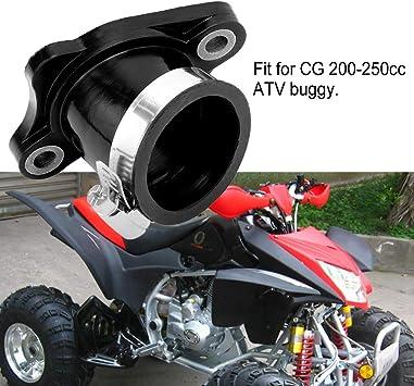 Carburador Del Carburador De Carby Del Colector De Admisi/ón De 30m M Para CG 200-250cc Go Kart Buggy
