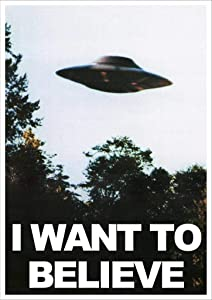 Kopoo X Files I Want to Believe Mulders Office Tv Show Poster, 24