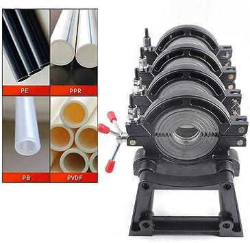 "1x Manual Pipe Fusion Welder HDPE Butt Fusion Welding Machine 2.48/""-7.87/"""