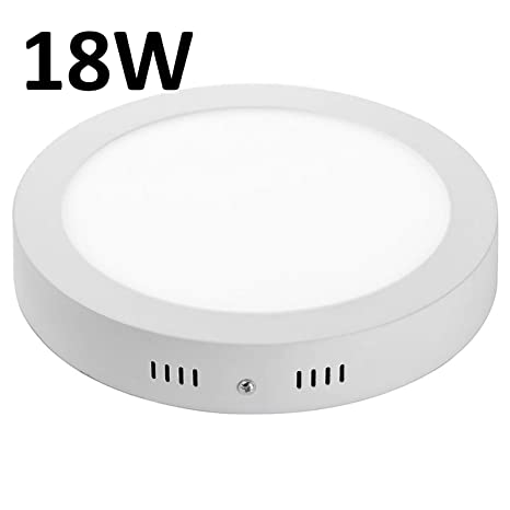 new product a4566 079b8 18 Watt Led Light Surface Mounted LED Panel Circular Round Ceiling  Downlight Panel Wall Lamp. All Fittings included