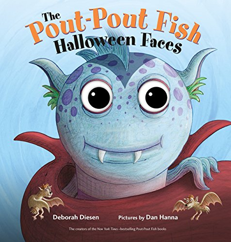 Halloween Reading Activities Kindergarten - The Pout-Pout Fish Halloween Faces (A