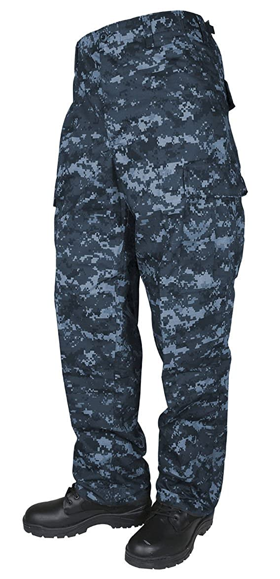 Tru-Spec Men's BDU Pants NAVY DIGITAL CAMO