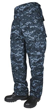 06b6dabf83863 Amazon.com: Tru-Spec Men's BDU Pants Navy Digital CAMO - Small ...
