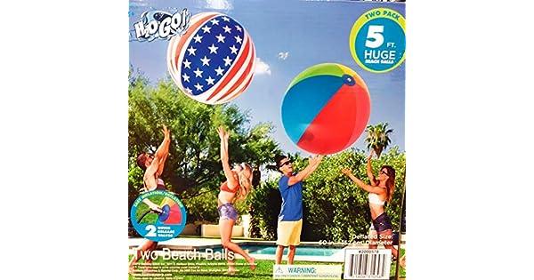 Amazon.com: H2OGo - Bolas gigantes para playa (2 unidades ...