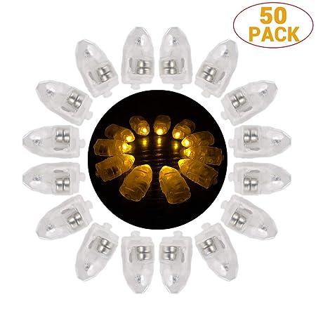 Egosy Luces de Globo LED Blancas cálidas para linternas de ...