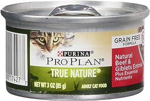 Nestle Purina Petcare 381181 24/3 oz Pro Plan True Nature Adult Natural Beef & Giblet Entrée