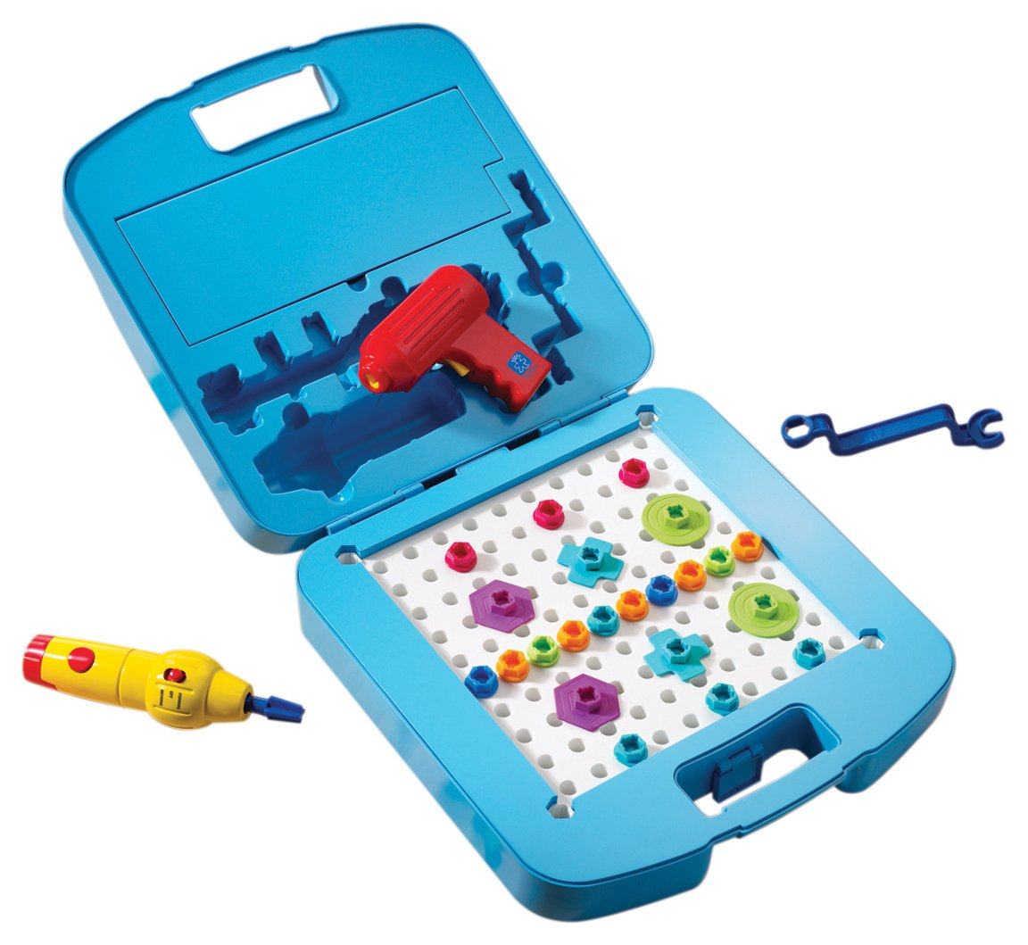 Educational Insights Design & Drill Power Tool Workshop - Drill Toy, STEM & Construction, Building Toy by Educational Insights (Image #2)