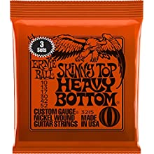 Ernie Ball Skinny Top Heavy Bottom Nickel Wound Set
