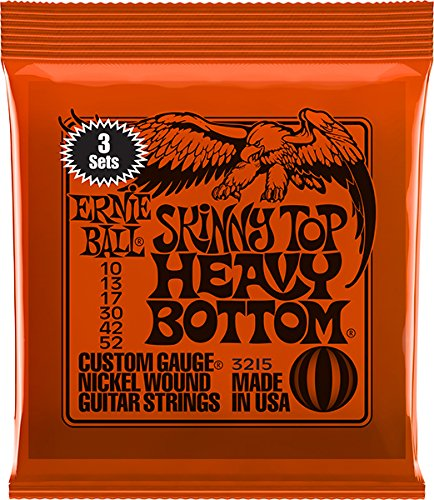 Ernie Ball Skinny Top Heavy Bottom Nickel Wound Set, .010 -
