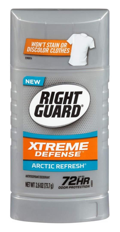 Right Guard Xtreme Defense 5 Arctic Refresh Antiperspirant, 2.6 oz