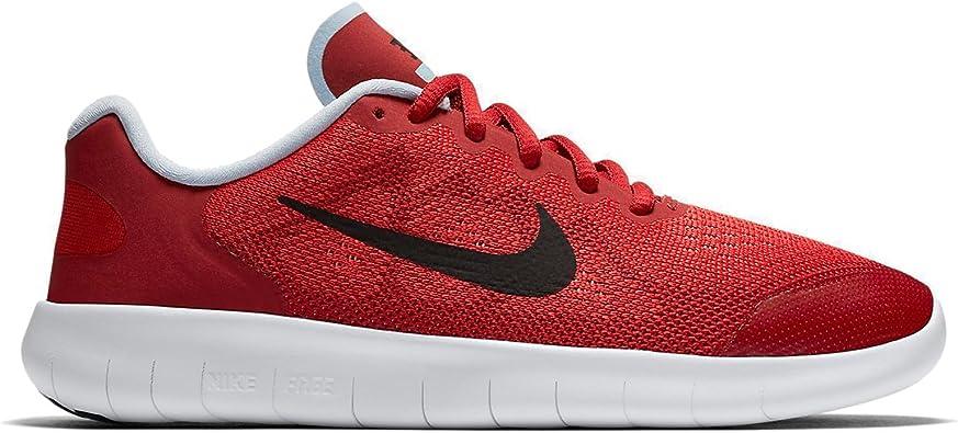 Nike Free RN GS, Zapatillas de Running para Niñas, Rojo (University Red/Port Wine/Tough Red/Hydrogen Blue), 38.5 EU: Amazon.es: Zapatos y complementos