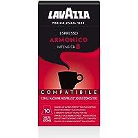 Lavazza Armonico Espresso, kahve kapsülleri ile uyumlu, NESPRESSO Kapselmaschinen, 30 kahve kapsül