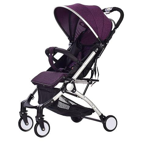 &Carrito de bebé La luz del carrito de bebé puede sentarse y ...