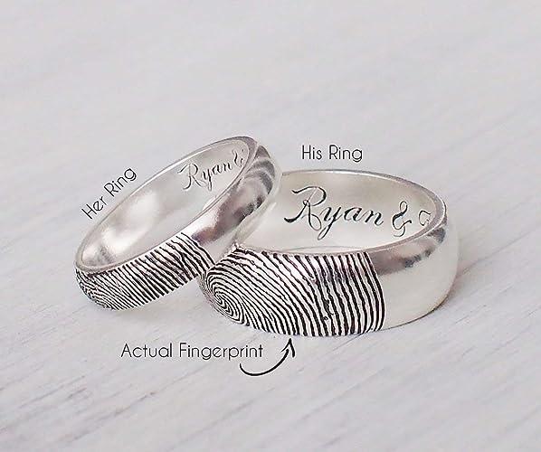 Amazoncom Code Blue Jewelry Personalized Promise Ring