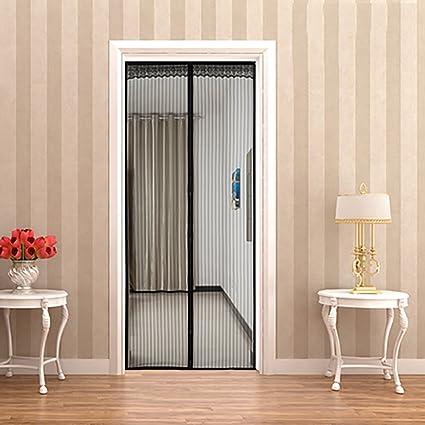 Q&F Puerta de Pantalla magnética Cortina mosquitera magnética para Puerta Mosquitera Puerta magnetica Ultra del Sello