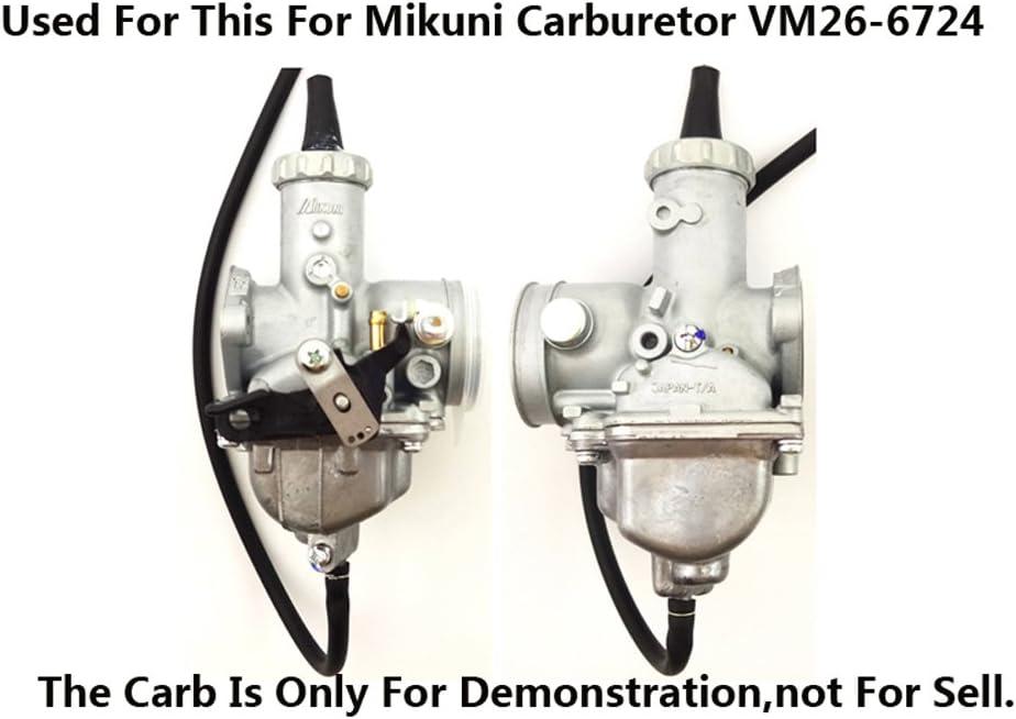 Kit de juntas de goma para cubeta de flotaci/ón Quad Motocicleta ATV para Mikuni VM26-6724 Carburetor Pit Dirt Bike de STONEDER 150 cc 160 cc 200 cc 250 cc