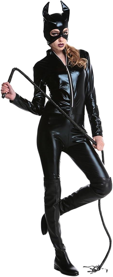 Ninimour Adulto Disfraz de Catwoman Costume Halloween Cosplay ...