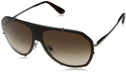 Dolce & Gabbana 0Dg2162, Gafas de Sol para Mujer, Gunmetal, 100