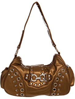 247a1136b2d Amazon.com  Small Studded Hobo women handbag Shoulder Handbag by ...