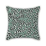 Slimmingpiggy 18 X 18 Inches / 45 By 45 Cm Leopard Throw Cushion Covers Two Sides Is Fit For Drawing Room Play Room Boys Him Bar Play Room