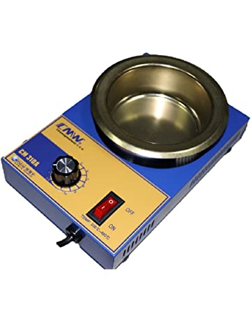 Crisol pozzetto para soldar estaño diámetro 100 mm 2,2 kg 300 ...