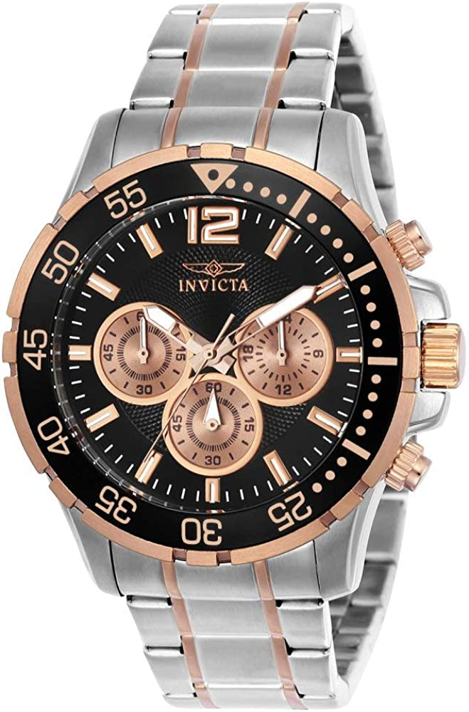 Invicta Men s Specialty Quartz Watch with Stainless-Steel Strap, Two Tone, 22 Model 23667
