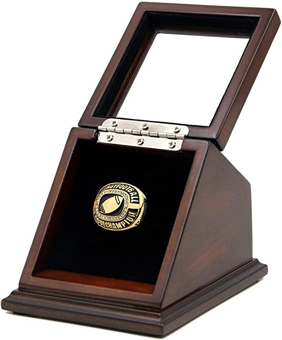 Top 9 Home Plate Championship Ring Display
