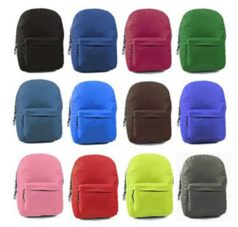 17'' School Backpacks (Case of 24)