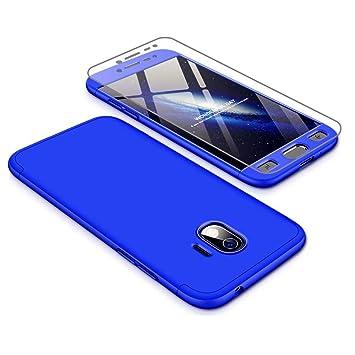 Coque Samsung Galaxy J2 Pro 2018 étui Protecteur Décran En Verre