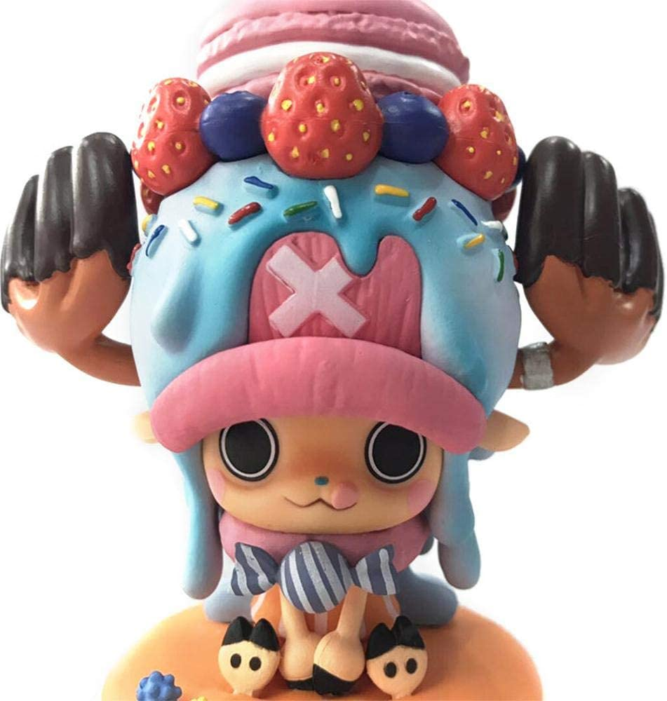 Anime One Piece Tony Tony Chopper Sweety Cake Ver 11cm PVC Figure New In Box