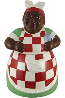 Mammy African American Ceramic Cookie Jar Jemima
