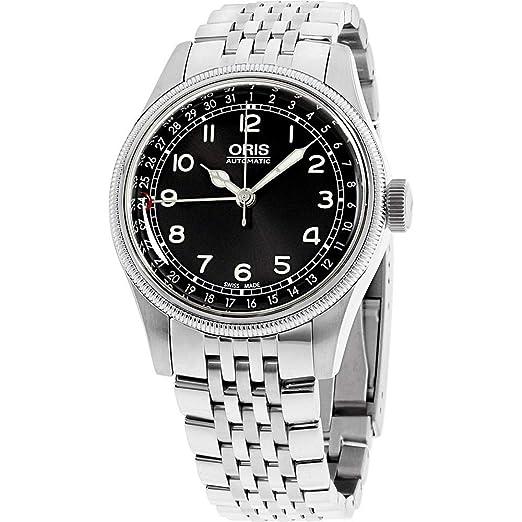 ORIS Big Crown Reloj DE Hombre AUTOMÁTICO 40MM Correa DE Acero 75476964064MB: Amazon.es: Relojes