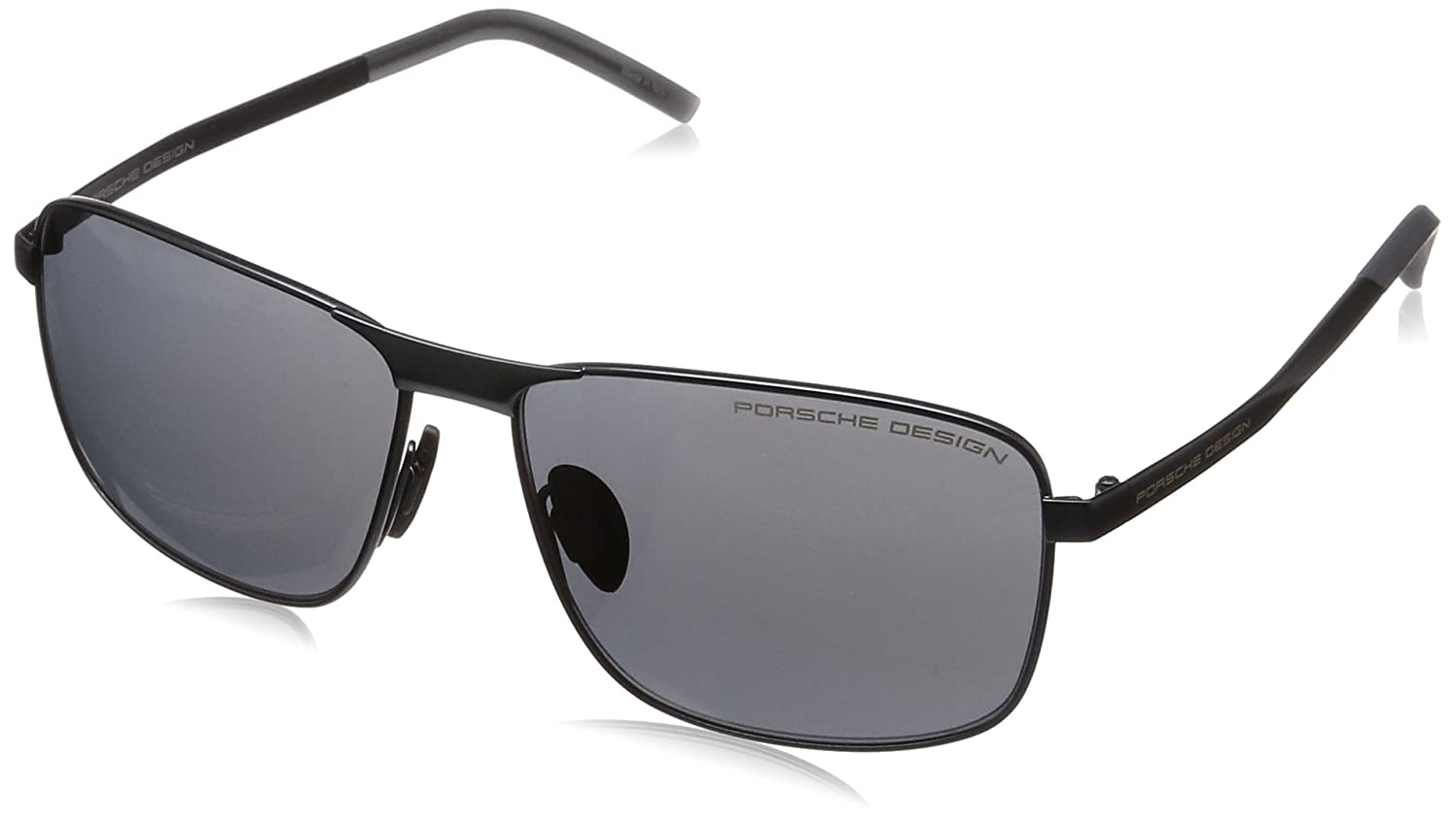 Amazon.com: Porsche Design Mens P8643 P/8643 D Blue Square ...