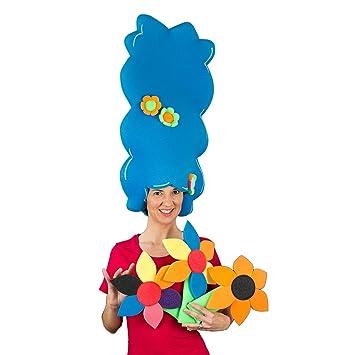 Peluca gomaespuma - Marge Simpson